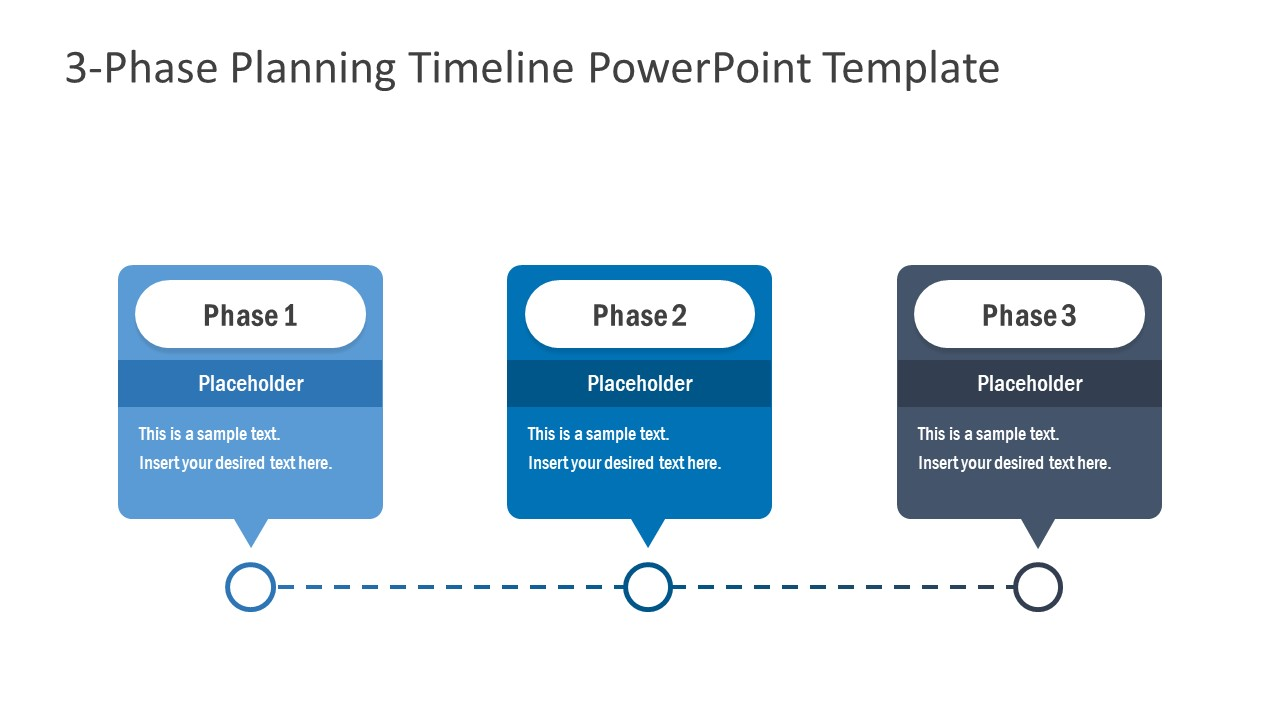 Business Presentation of 3 Phases