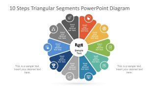 10 Steps Circular Diagram