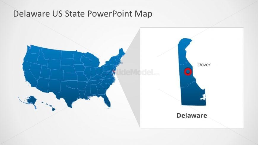 Presentation of United States Map
