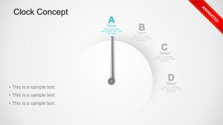Clock Business Concept Animated PowerPoint Templates