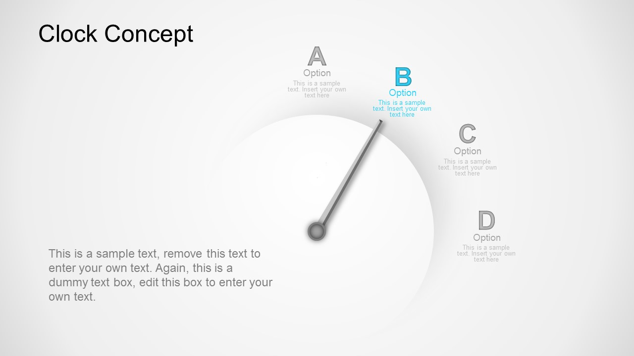 clock powerpoint template