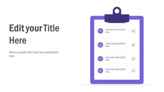 4-Step Check List PowerPoint Template