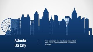 Atlanta US City PowerPoint Template