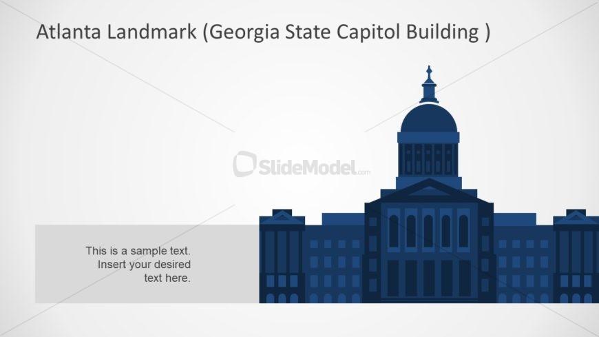 Silhouette PowerPoint Atlanta Building