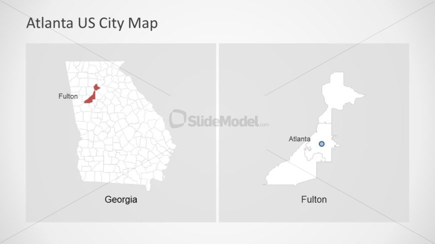 Business Presentation for Atlanta Map