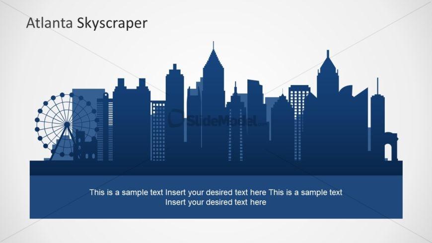City Skyline PowerPoint Silhouette