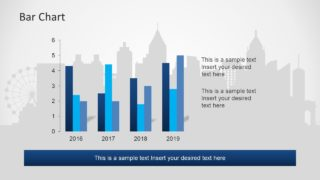 Data Chart for Statistics in PowerPoint