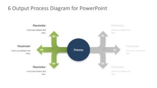 Business Output Diagram Template