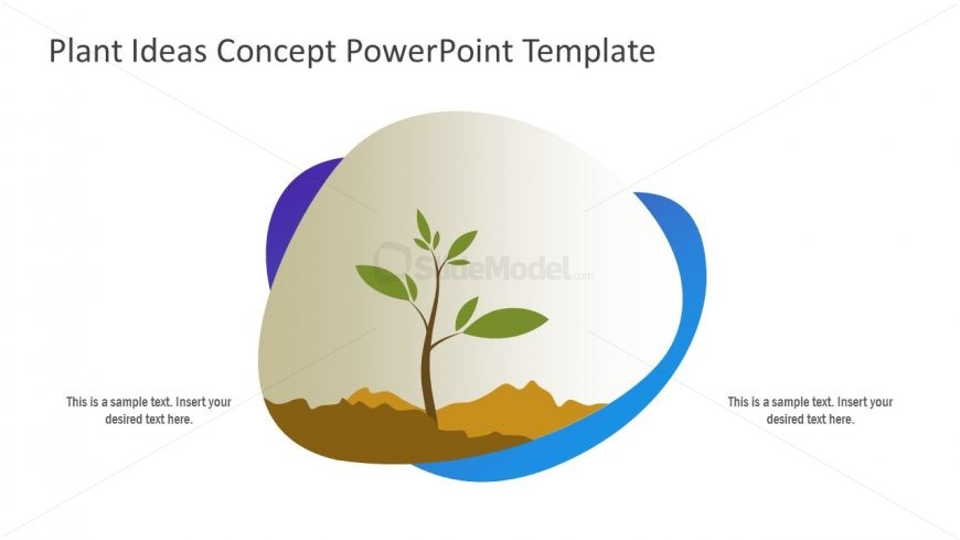 Plant Metaphor for Growth Presentations