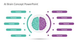 Business PowerPoint Brain Concept