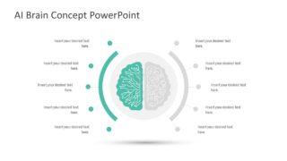 PowerPoint Human Brain Graphics