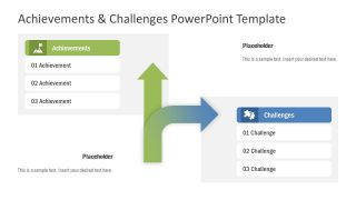 Achievements & Challenges PowerPoint Template
