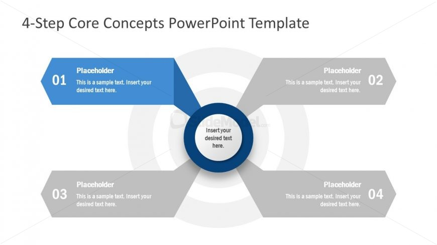 Core Values PowerPoint Diagram