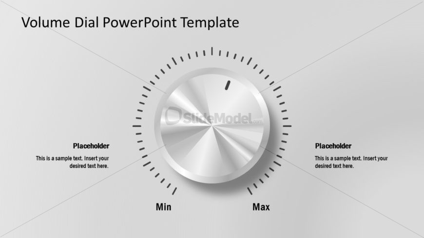Presentation of Volume Dial