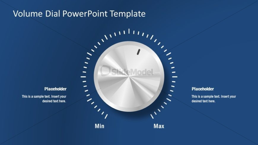 Presentation of Volume Dial Template