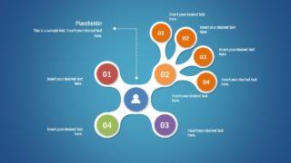 Tree PowerPoint Diagram Fidget Spinner