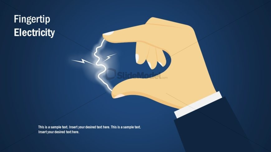 Presentation of Electricity on Fingertips
