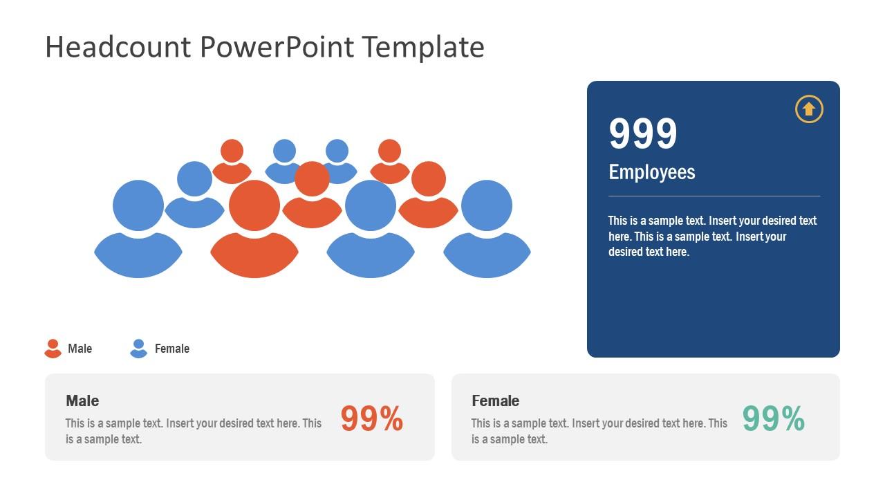 HR Concept Headcount Graphics