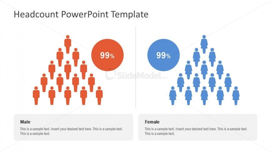 Male and Female Headcount Template