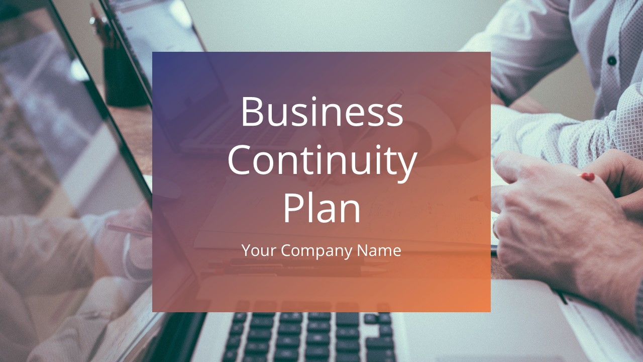 Background Image for Business Continuity