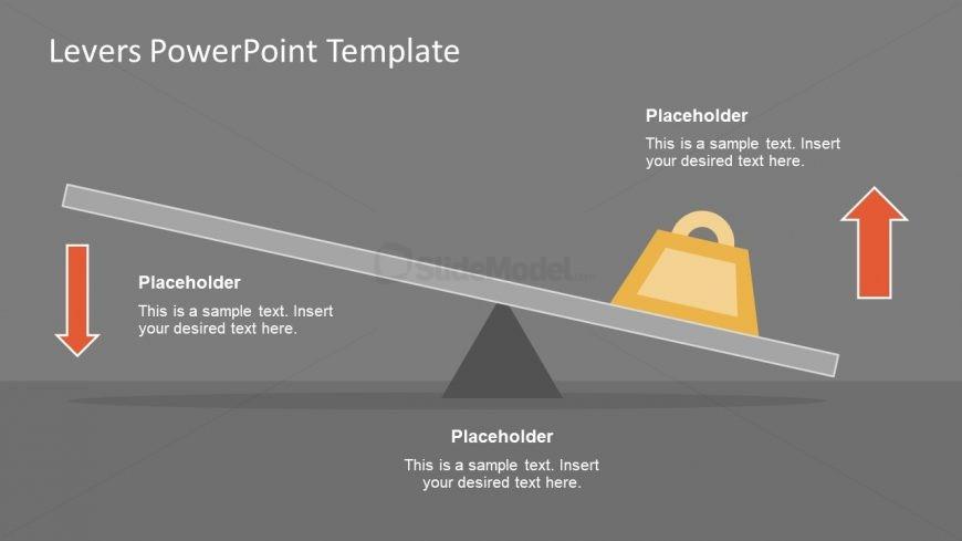 Editable Diagram of Levers PowerPoint