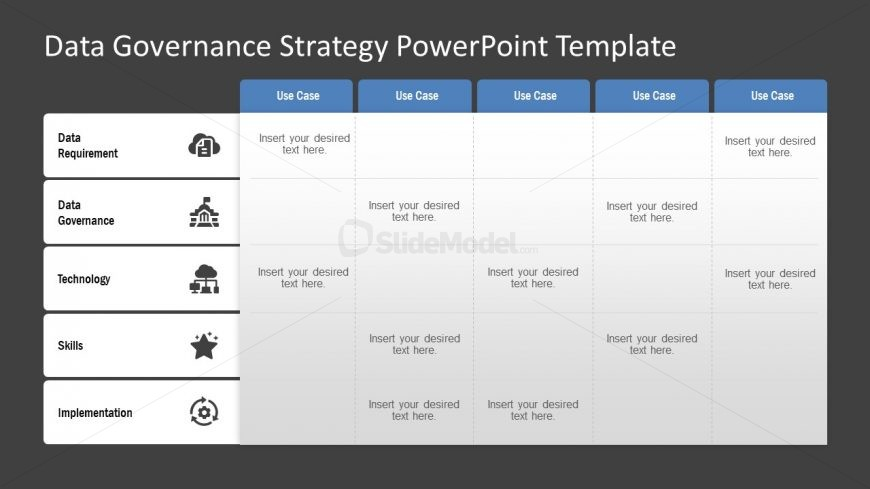 PowerPoint Model of Strategy Diagram