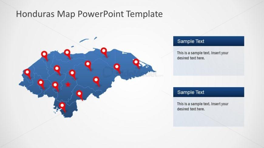 Presentation of Honduras Map