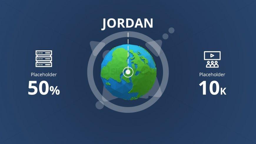 3D Model of Earth Globe