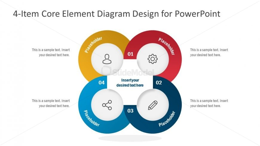 4 Steps PowerPoint Diagram Template