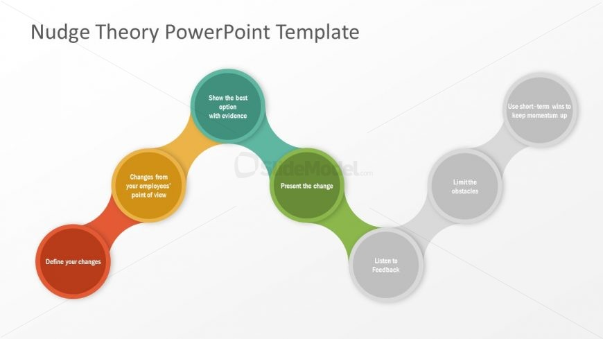 PowerPoint 7 Steps Process Diagram