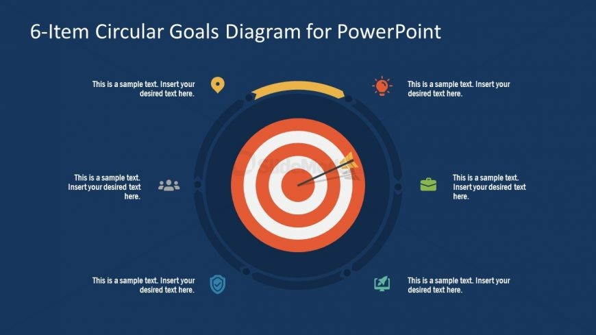 PowerPoint Step 1 Circular Goals Slide
