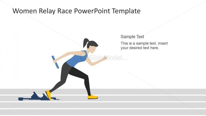 PowerPoint Relay Race Baton Practice