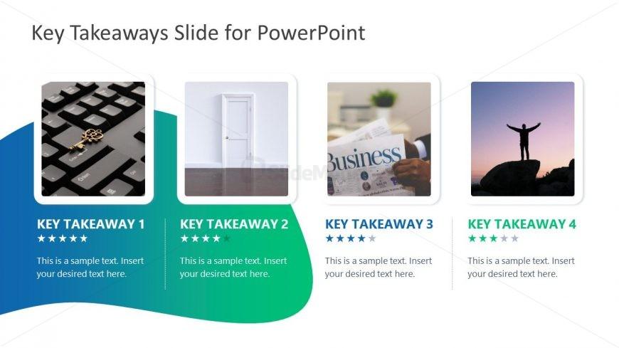 PowerPoint 4 Segment Layout