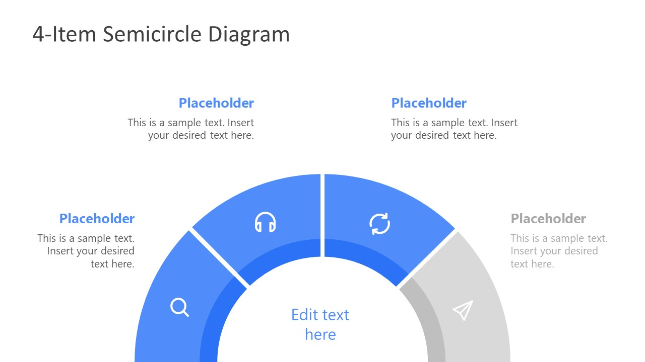 Semi-Circle PowerPoint Template
