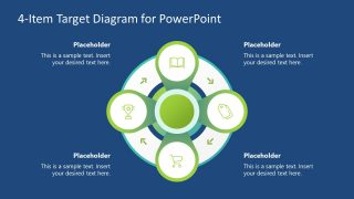 PowerPoint Diagram Target Templates