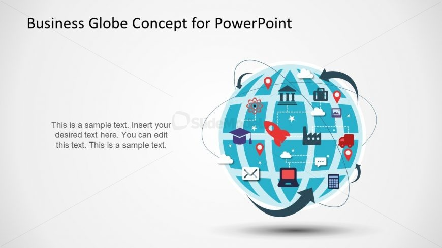Business Concept Template of Globe