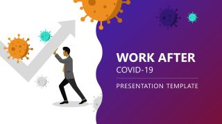 Slide of COVID-19 Virus and Work