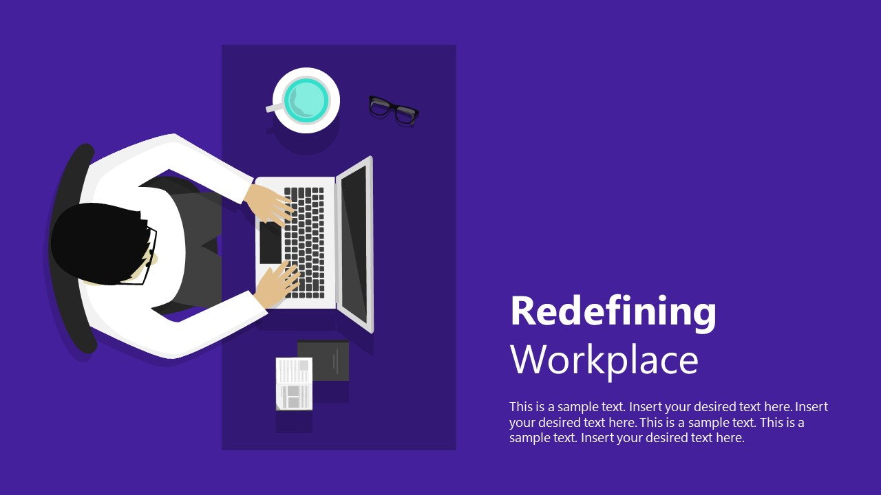 Business Presentation of Desktop Work