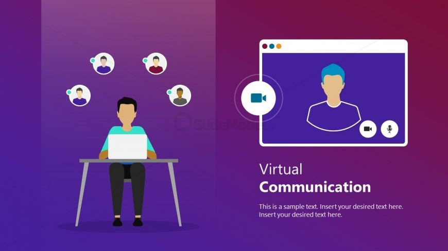 PPT Video Conference Remote Work