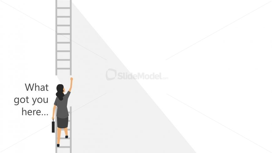 Climb the Corporate Ladder Slide