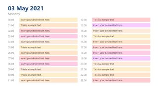 Time Management Planner PowerPoint