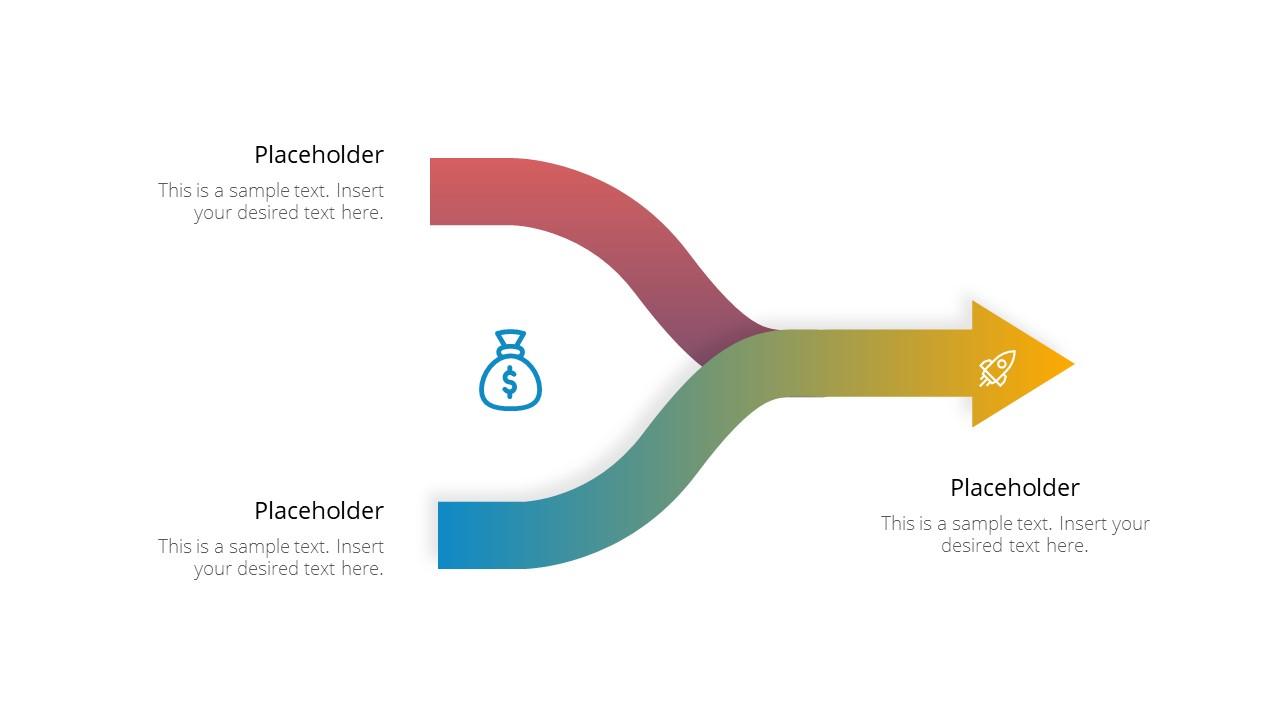 2 Way Process Diagram Template