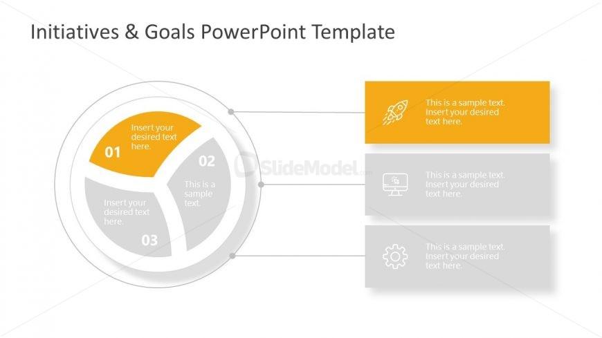 Goals PowerPoint Circular Model