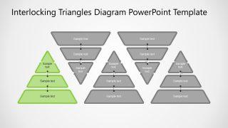 5 Triangles 3 Level Diagram