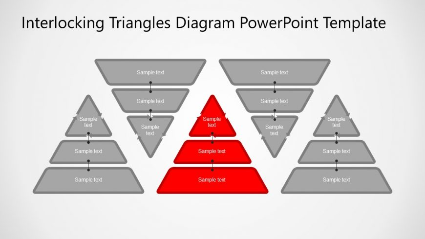 5 Steps Pyramids PowerPoint