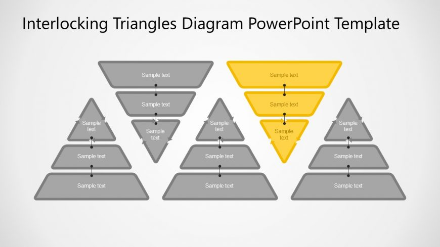 5 Triangles 3 Layers Diagram