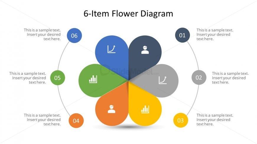 6 Steps Circular Diagram Template