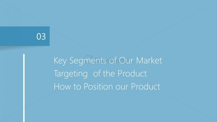 Presentation of Market Plan Segmentation