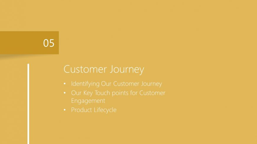 General Marketing Plan of Customer Journey