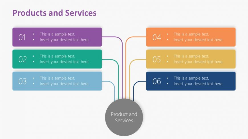 PowerPOint Products and Services Template
